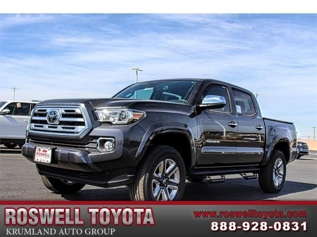 New 2018 Toyota Tacoma Limited V6 Truck In Roswell R18306