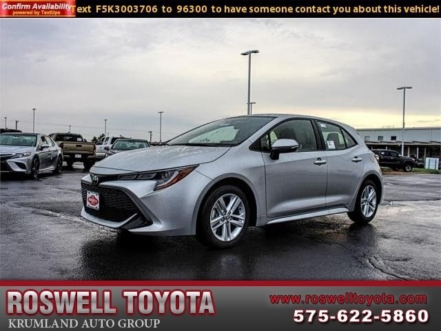 New 2019 Toyota Corolla Hatchback Se Hatchback In Roswell R18645