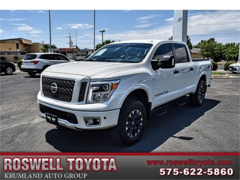 Pre-Owned 2018 Nissan Titan PRO-4X