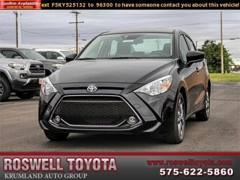 New 2019 Toyota Yaris Sedan LE