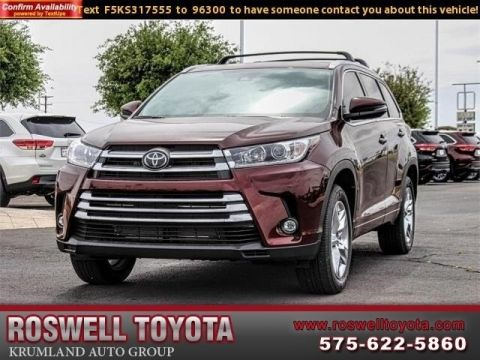 New 2019 Toyota Highlander Limited V6